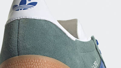 adidas Gazelle Hazy Emerald Closeup