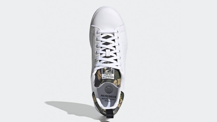 adidas Stan Smith Cloud White Camo Middle