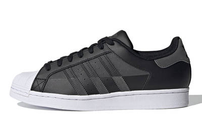 adidas Superstar Core Black Grey
