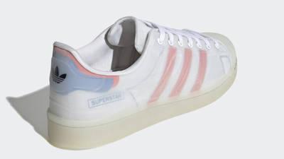 adidas Superstar Futureshell White Semi Solar Red Back