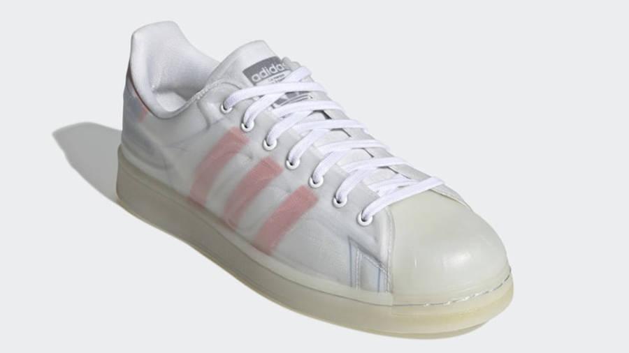 adidas Superstar Futureshell White Semi Solar Red Front