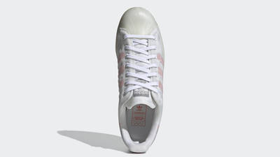 adidas Superstar Futureshell White Semi Solar Red Middle