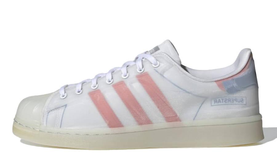 adidas Superstar Futureshell White Semi Solar Red
