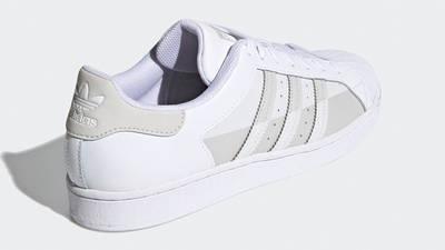 adidas Superstar White Grey One Back