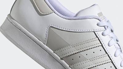 adidas Superstar White Grey One Closeup