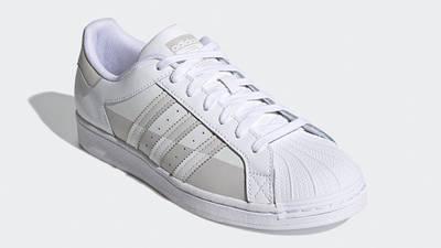 adidas Superstar White Grey One Front