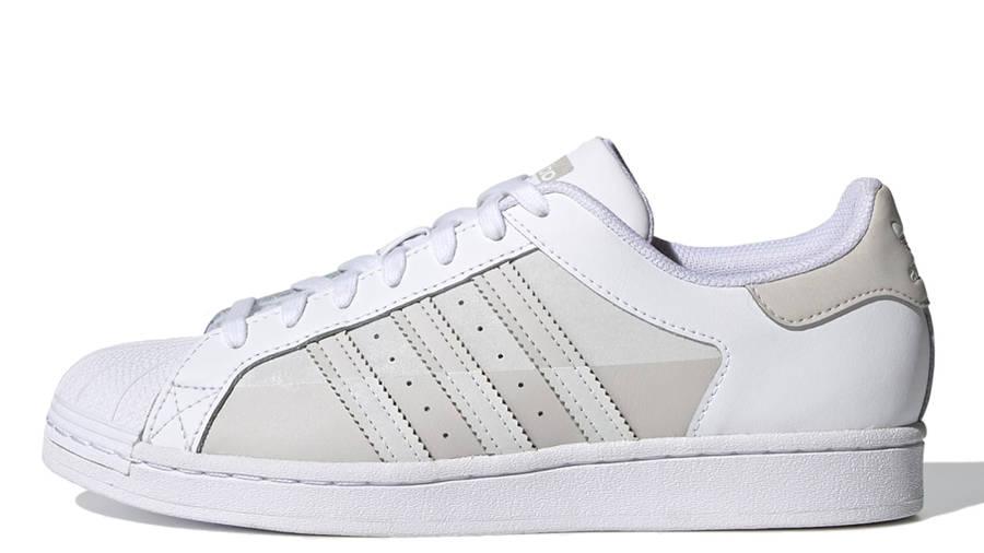 adidas Superstar White Grey One