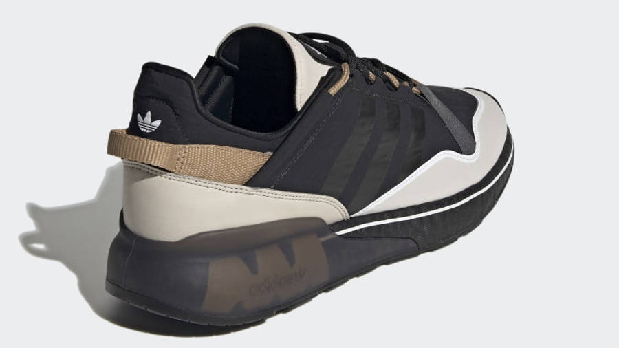 adidas ZX 2K Boost Pure Core Black Back