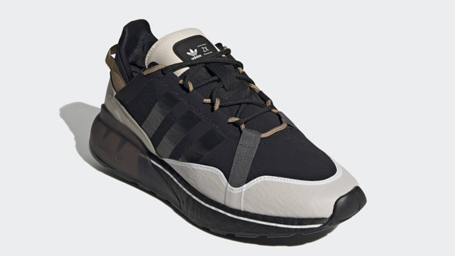 adidas ZX 2K Boost Pure Core Black Front