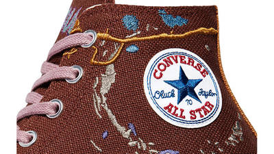 Bandulu x Converse Chuck 70 Hi Cappuccino Base Closeup