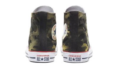 Converse Chuck Taylor All Star Camo Hi Navy Green Back