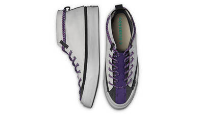 Converse Deck Star Zip Mid Pale Putty Middle