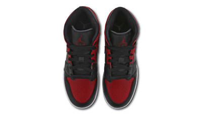 Jordan 1 Mid GS Banned Middle