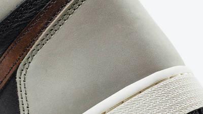 Jordan 1 Retro High Patina Closeup