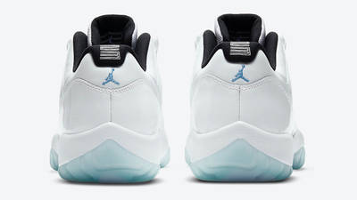 Jordan 11 Low Legend Blue Back
