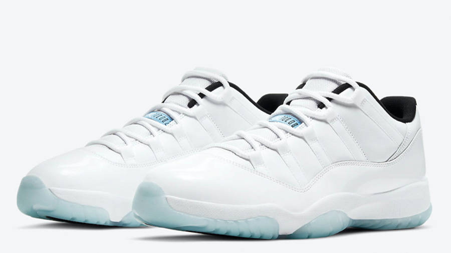 Jordan 11 Low Legend Blue Front
