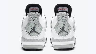 Jordan 4 Golf White Cement Back