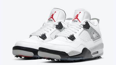 Jordan 4 Golf White Cement Front