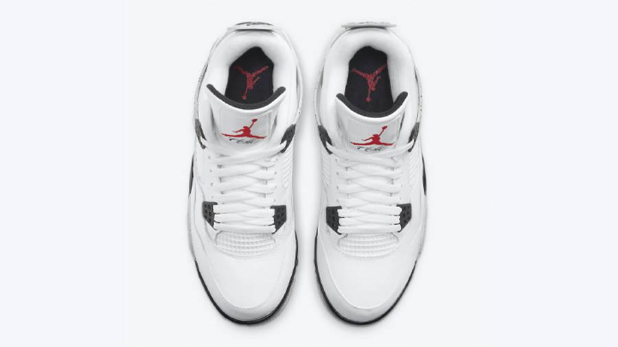 Jordan 4 Golf White Cement Middle