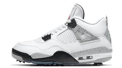 Jordan 4 Golf White Cement