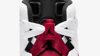 Jordan 6 Carmine GS Closeup