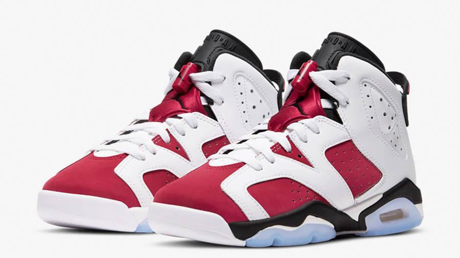 Jordan 6 Carmine GS Front