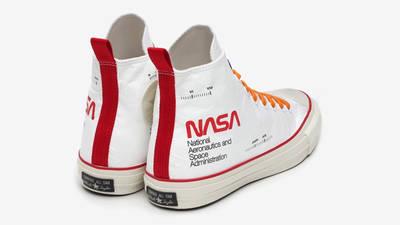 NASA x Converse Chuck 70 Hi Spacesuits White Back