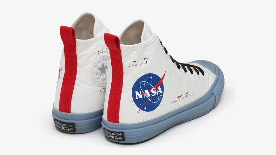 NASA x Converse Chuck 70 Hi Spacesuits White Blue Back