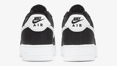 Nike Air Force 1 07 Black White Back