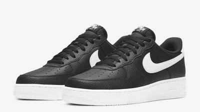 Nike Air Force 1 07 Black White Front