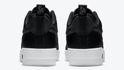 Nike Air Force 1 07 LV8 Black Orange DJ6887-001 back