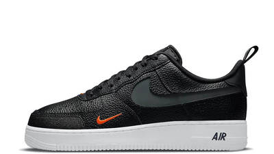 Nike Air Force 1 07 LV8 Black Orange DJ6887-001