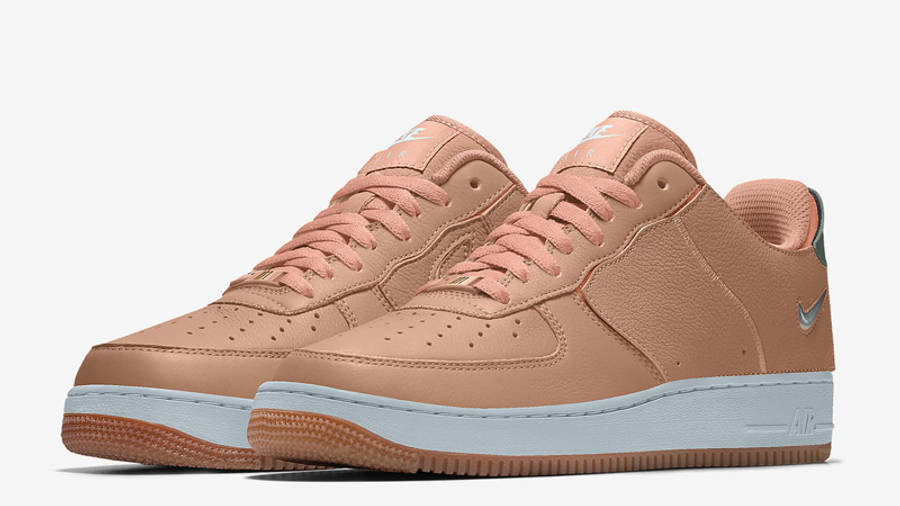 Nike Air Force 1/1 Jewel Swoosh Unlocked By You Front