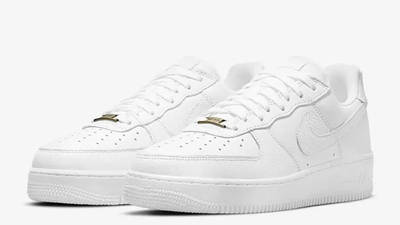 Nike Air Force 1 Craft White Snakeskin CU4865-100 front