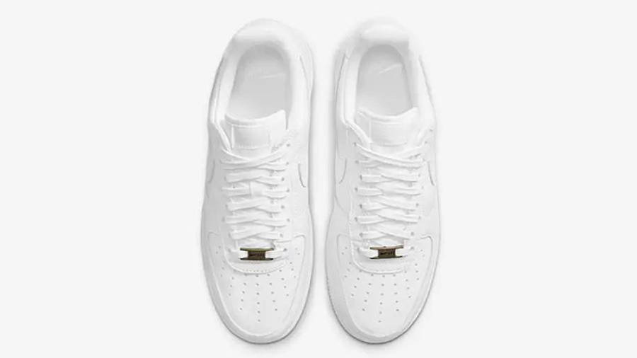 Nike Air Force 1 Craft White Snakeskin CU4865-100 middle
