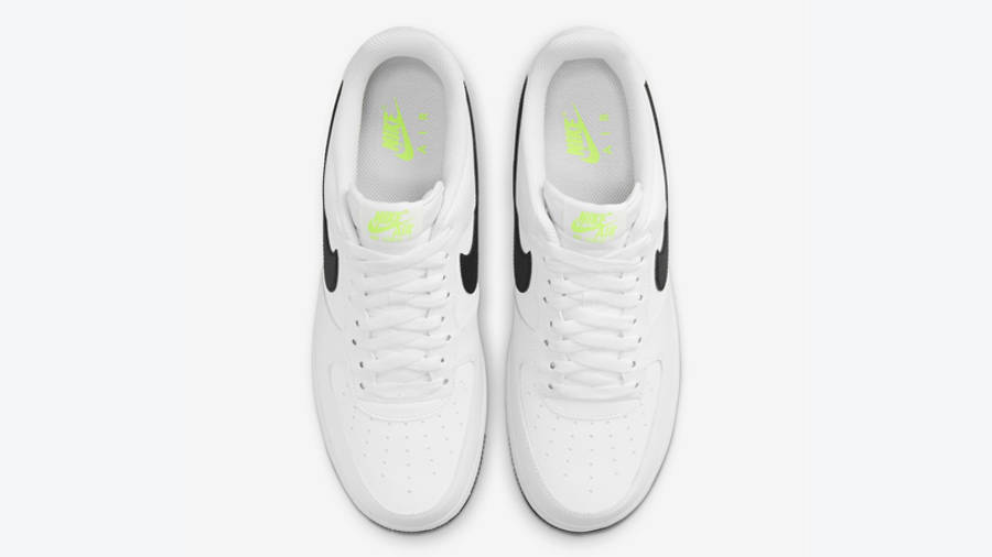 Nike Air Force 1 Just Do It White Black Middle