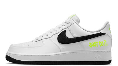 Nike Air Force 1 Just Do It White Black