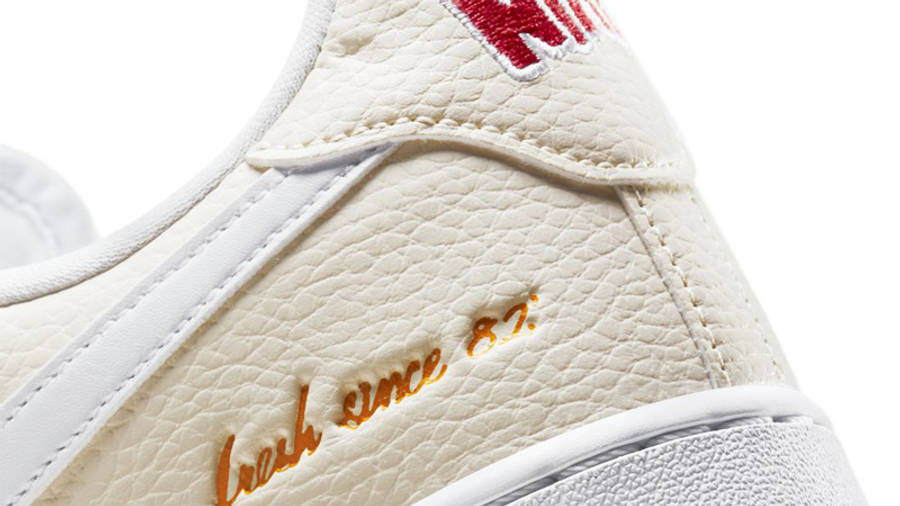 Nike Air Force 1 Low Premium Popcorn Closeup