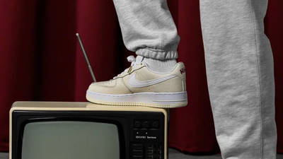 Nike Air Force 1 Low Premium Popcorn On Foot