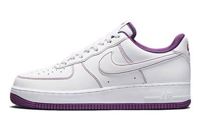 Nike Air Force 1 White Viotech Stitch