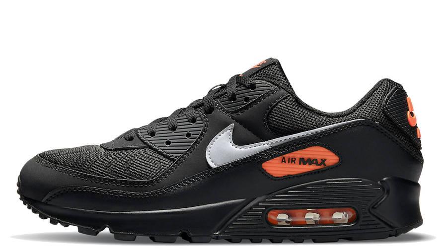 Nike Air Max 90 Black Orange | Where To Buy | DJ6881-001 | The ...