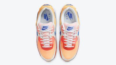 Nike Air Max 90 Snakeskin Campfire Orange Middle