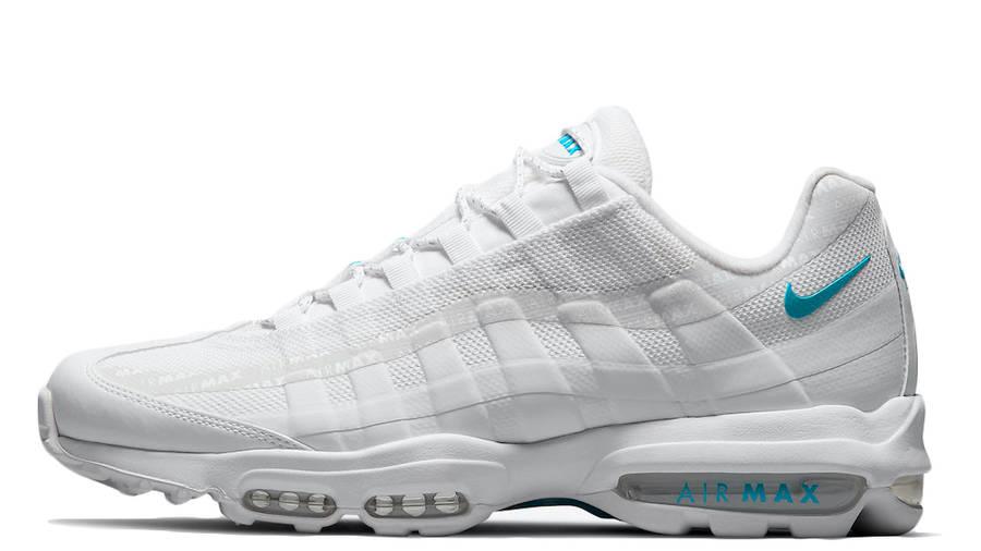 Nike Air Max 95 Ultra White Glacier Blue | Where To Buy | DM2815 ...