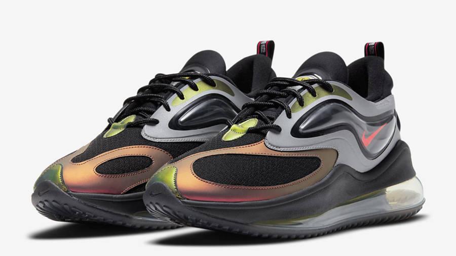 Nike Air Max Zephyr EOI Metallic Silver Bright Crimson Front