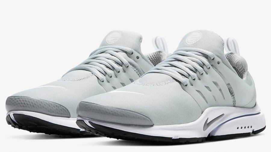 Nike Air Presto Light Smoke Grey Front