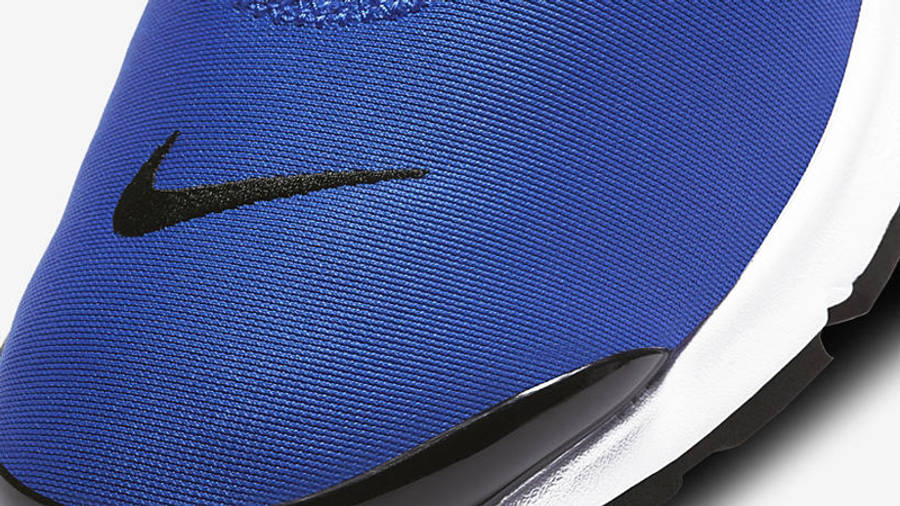 Nike Air Presto Royal Black Closeup