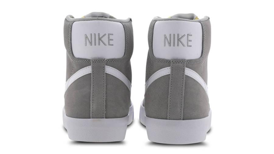 Nike Blazer Mid 77 Grey White Back