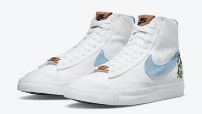 Nike Blazer Mid 77 Indigo DC9265-100 front