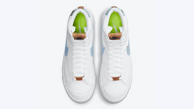 Nike Blazer Mid 77 Indigo DC9265-100 middle