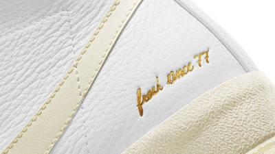 Nike Blazer Mid 77 Popcorn Closeup